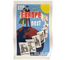 Vintage poster - Europe Poster