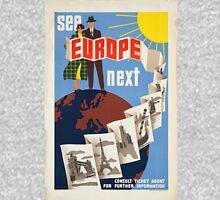 Vintage poster - Europe Unisex T-Shirt