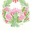 Fynbos Wreath by Danelle Malan