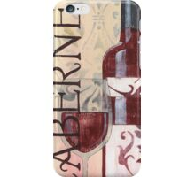 Transitional Wine Cabernet iPhone Case/Skin