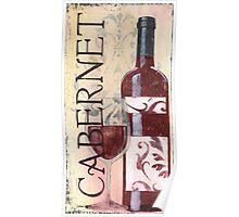 Transitional Wine Cabernet Poster