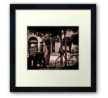 Happy Hours Framed Print