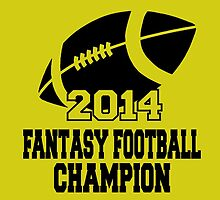 2014 Fantasy Football Champion by fashionera