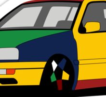 Volkswagen Golf MK3 Harlequin Sticker