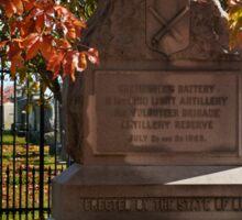 Gettysburg National Park - Ohio Memorial Sticker