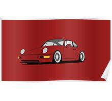 Porsche 964 Poster