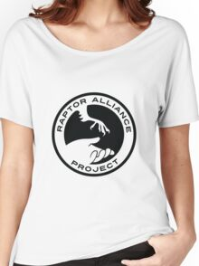 Raptor Alliance Project: Black Women's Relaxed Fit T-Shirt