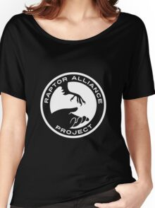 Raptor Alliance Project: White Women's Relaxed Fit T-Shirt