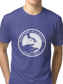 Raptor Alliance Project: White Tri-blend T-Shirt
