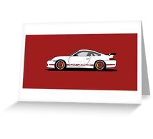 Porsche 911 996 GT3 RS Greeting Card