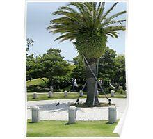 Landscape of Japanese parks Poster