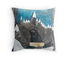 Wallace Stevens print Throw Pillow