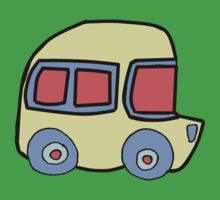 Yellow Bus - By Beatrice Ajayi Kids Clothes