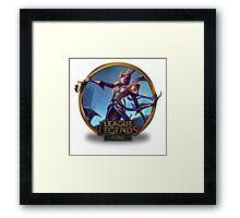 Elise Victorious - League of Legends Framed Print