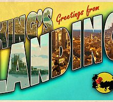 Greetings from King's Landing (parody tourism postcard) by greetingsfrom
