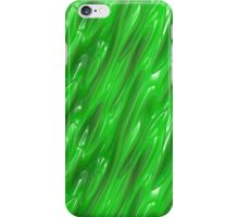Liquid Green iPhone Case/Skin