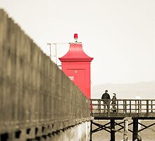 Red lighthouse by baro