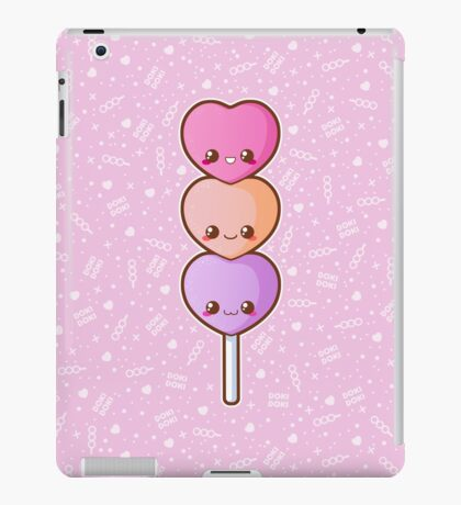 Heart Dango [Pink] iPad Case/Skin