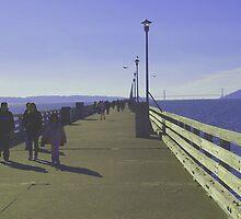 Sunday Afternoon – Berkeley Pier by photoartful