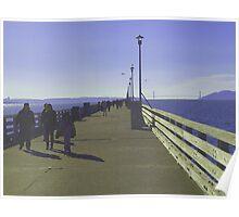 Sunday Afternoon – Berkeley Pier Poster