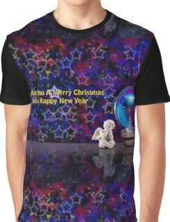 We Wish You A Merry Christmas And A Happy New Year Graphic T-Shirt