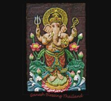 Ganesh Blessing Thailand One Piece - Short Sleeve