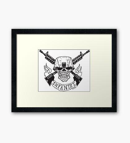Infantry Framed Print