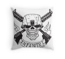 Infantry Throw Pillow