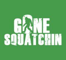 GONE SQUATCHIN' - Bigfoot Shirt Kids Tee