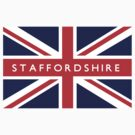 Staffordshire UK Flag		 by FlagCity