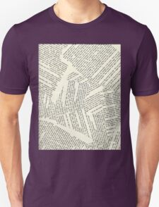 Book Paper Background  T-Shirt