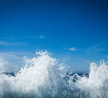 Motion in the ocean by Marie Carr