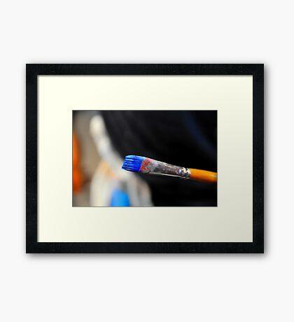Brush It Framed Print
