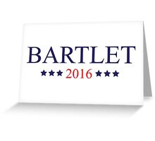 Bartlet 2016 Greeting Card