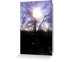 Sunrise in Freehold Greeting Card