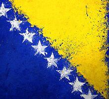 Bosnian Flag - Magnaen Flag Collection 2013 by GrizzlyGaz