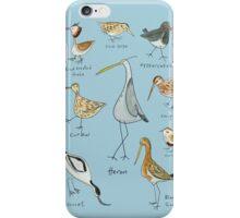 Tidal Estuary Bird Spotters Guide  iPhone Case/Skin