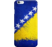 Bosnian Flag - Magnaen Flag Collection 2013 iPhone Case/Skin