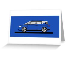 Renault Avantime Greeting Card