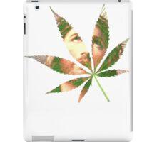 Cannabis is my God iPad Case/Skin