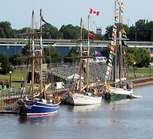 Bay City Tall Ship Celebration (2010) - West Bank by Francis LaLonde