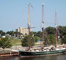 S/V Denis Sullivan - Bay City - Tall Ship Celebration (2010) by Francis LaLonde