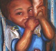 Thumb and a Blankee by Alga Washington