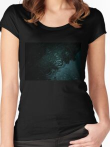 Dark water Women's Fitted Scoop T-Shirt