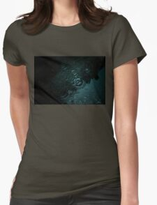 Dark water Womens Fitted T-Shirt