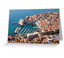 Old City of Dubrovnik Greeting Card