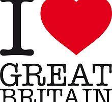 I ♥ GREAT BRITAIN by eyesblau
