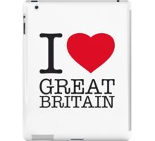 I ♥ GREAT BRITAIN iPad Case/Skin