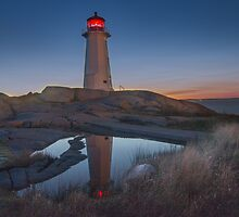 "Safe Haven - Peggy's Cove Lighthouse by Michael "" Dutch "" Dyer"