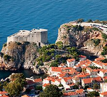 Fort Lovrijenac in Dubrovnik by Artur Bogacki